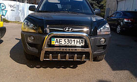 Кенгурятник з написом Can otomotiv Hyundai Tucson