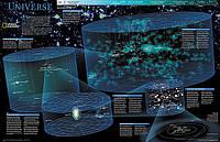 Карта Вселенной 100см х 154см