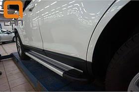 Пороги подножки боковые Can Oto Brillant для Fiat Scudo 2006+ короткая база 221 см