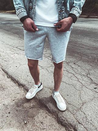 Мужские летние шорты серого цвета, фото 2