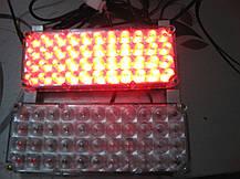 Стробоскопы в решетку авто Led 2-44 красно/синие 12-24В. https://gv-auto.com.ua, фото 3