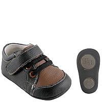 Кожаные мокасины пинетки ТМ Hudson Baby (6-12М)