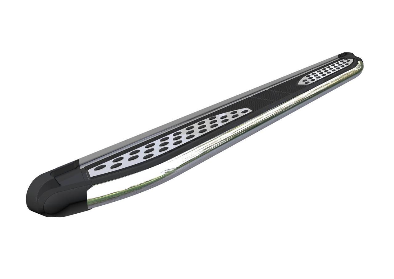 Пороги подножки боковые Can Oto Plus для Subaru Forester 2009-2013