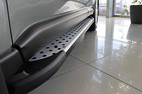 Пороги в стиле бмв для Chevrolet Niva 2008+