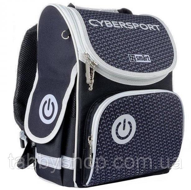 Ранец ортопедический для мальчика Smart PG-11 Cybersport черный