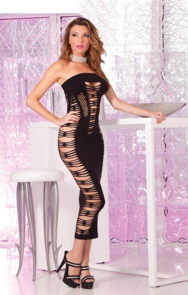 Платье Big Spender seamless long dress Black