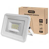 Светодиодный прожектор VIDEX 20W 5000K 220V