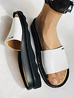 Mario Muzi. Женские сабо шлепки.Натуральная кожа. Турция. Размер 36, 37,38,39,40, фото 4