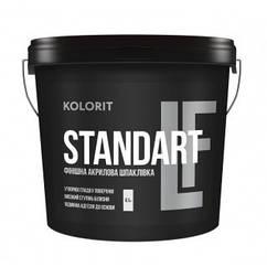 Акриловая шпаклевка Kolorit Standart LF 8,5кг