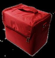 Сумка-кейс для мастера (красная)