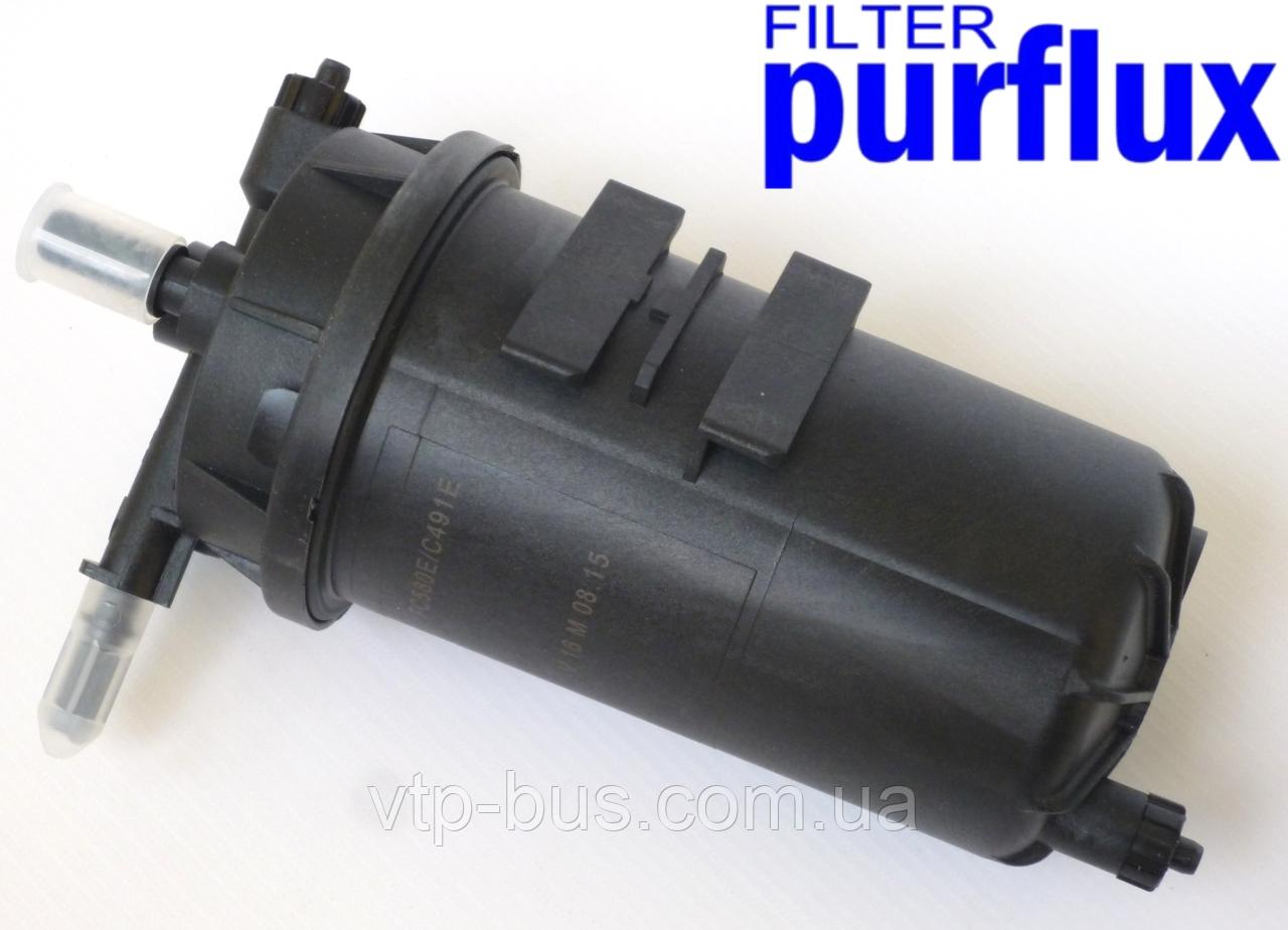 Корпус топливного фильтра (под элемент 120mm) на Renault Trafic (2001-2014) Purflux (Франция) FC580E
