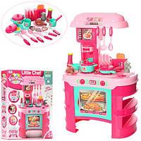 Дитяча кухня з аксесуарами, звук, світло