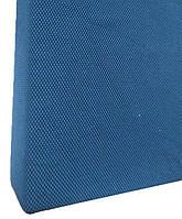 Натяжна чохол на диван Фактура стільники синій