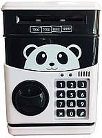 Копилка детский сейф UKC Черно-белый 20053100301, КОД: 1810673