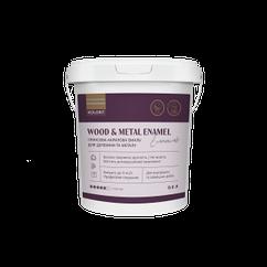 Акриловая глянцевая эмаль Kolorit Wood and Metal Enamel 2л