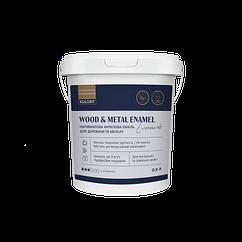 Акриловая полуматовая эмаль Kolorit Wood and Metal Enamel 0.9л