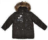 Куртка зимняя для мальчика на пуховой подстежке