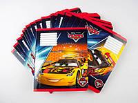 Комплект зошитів Міцар скоба 18 арк лінія Серія Cars 20 шт 249570, КОД: 901903