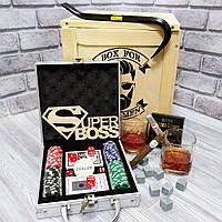 """Подарок начальнику, шефу, руководителю, боссу """"Покерный"""" (Код BFM-2101)"""