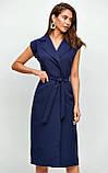 """Літнє плаття Karree """"Брауні"""" у стилі на запах (пудра, р. S-M), фото 7"""