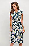 """Літнє плаття Karree """"Брауні"""" у стилі на запах (пудра, р. S-M), фото 10"""