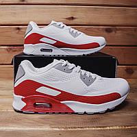 Мужские кроссовки Барс 90 (бело-красные) 44, 45
