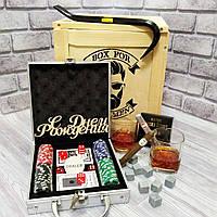 """Подарок мужчинам, мужу, папе на День Рождения, Юбилей - """"Покерный"""" (Код BFM-2102)"""