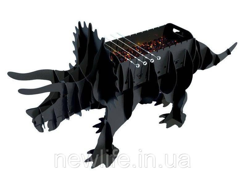 """Мангал в виде животного """"Динозавр"""""""