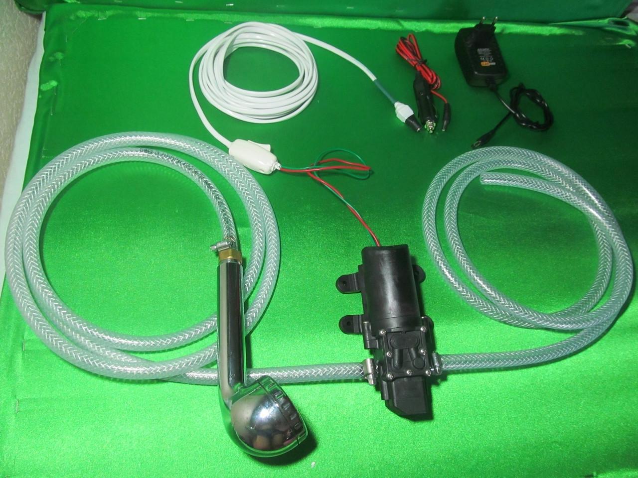 Мобильный душ от 12 или 220 вольт