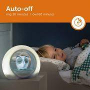 Детский ночник со звуковой активацией Совенок Lou ТМ Zazu серый, фото 3