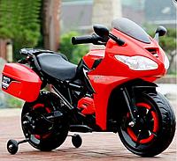 Детский электромотоцикл Tilly T-7221 (красный цвет)
