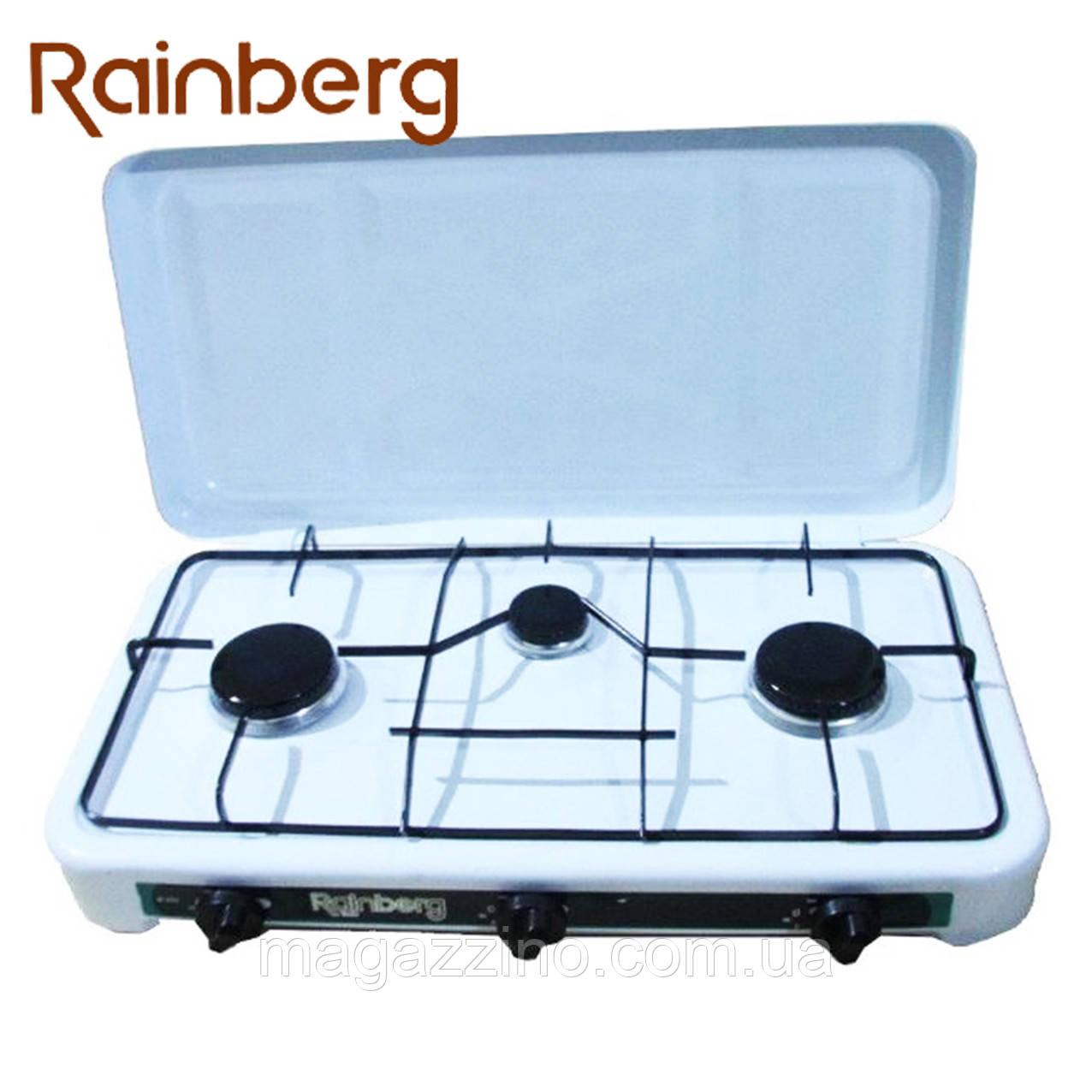 Газовая плита на 3 конфорки Rainberg RB-003
