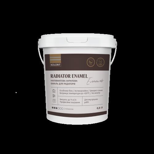 Акриловая радиаторная эмаль Kolorit Radiator Enamel 2л
