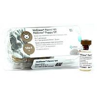 Вакцина Нобивак Паппи (Nobivac Puppy) против чумы для собак и парвовируса с растворителем - 1 флакон/доза, фото 1