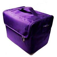 Сумка-кейс для мастера (фиолетовая)