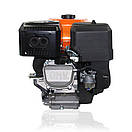 Двигатель (бензин газ)  LIFAN KP460 с электростартером  (20 л.с) шпонка 25 мм, фото 4