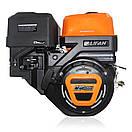 Двигун (бензин газ) LIFAN KP460 з електростартером (20 л. з) шпонка 25 мм, фото 3