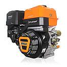 Двигатель (бензин газ)  LIFAN KP460 с электростартером  (20 л.с) шпонка 25 мм, фото 2