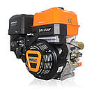 Двигун (бензин газ) LIFAN KP460 з електростартером (20 л. з) шпонка 25 мм, фото 2