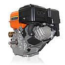 Двигатель (бензин газ)  LIFAN KP460 с электростартером  (20 л.с) шпонка 25 мм, фото 5