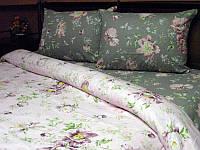 Комплект постельного белья Tirotex бязь полуторка полуторный, 2