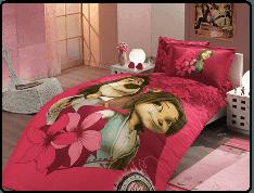 Комплект постельного белья HOBBY License Ranforce Max темно-розовый 160*220/1*50*70 28183