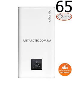 Бойлер (водонагреватель) ATLANTIC VERTIGO O'PRO MP 065 F220-2E-BL (1500W), 80 литров, электрический, плоский