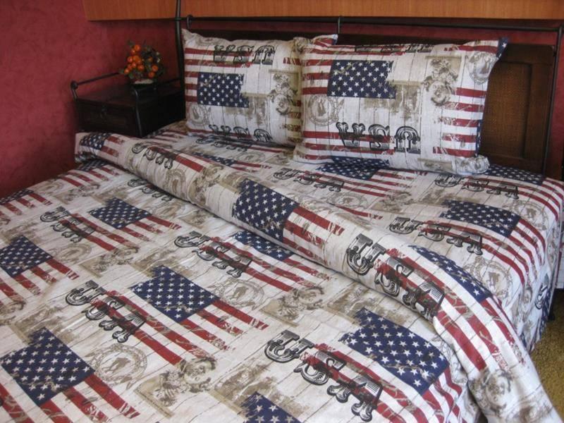 Комплект постельного белья Tirotex бязь двойной нестандартный двуспальный 180, 1