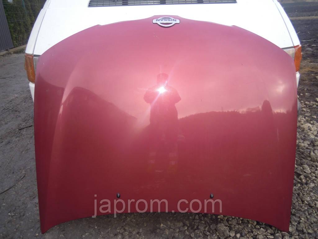 Капот Nissan Almera N16 2000-2006г.в. вишня 3+4+5дв.