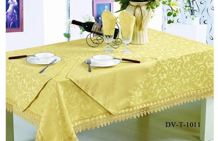 Комплект столового белья DV-T-1011, 5 предметов, фото 2