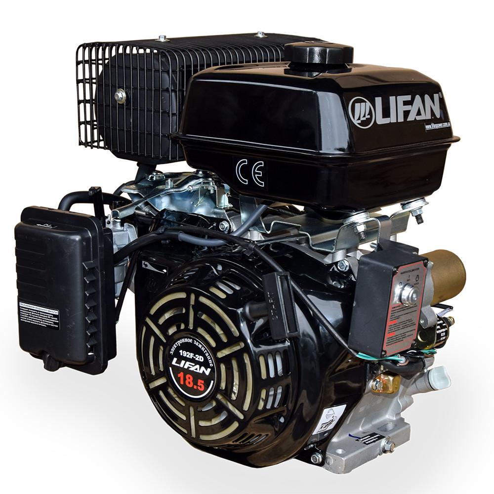 Бензиновый двигатель LIFAN 192F2D 18 л.с.(шпонка 25 мм)