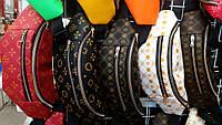 Женские лаковые брендовые сумки на пояс, бананки на два отдела на молнии