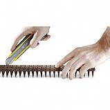Пластиковые шипы от птиц и животных 0,5 м*3 см Полупрозрачный, фото 3