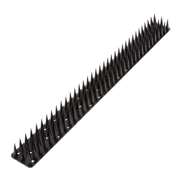 Пластиковые шипы от птиц и животных 0,5 м*3 см Черный